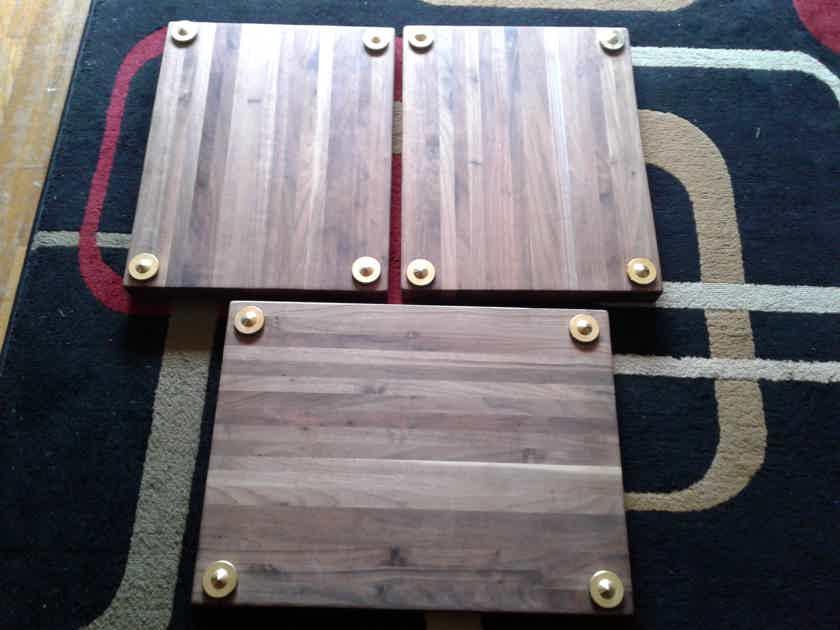 Custom  Walnut stands 3
