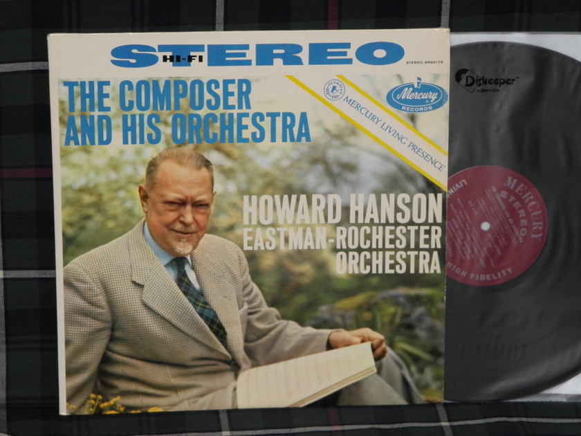 Hanson/Eastman Rochester Orch - Composer And His Orchestra Mercury Living Presence STEREO SR-90175 FR1 / FR1 TAS list