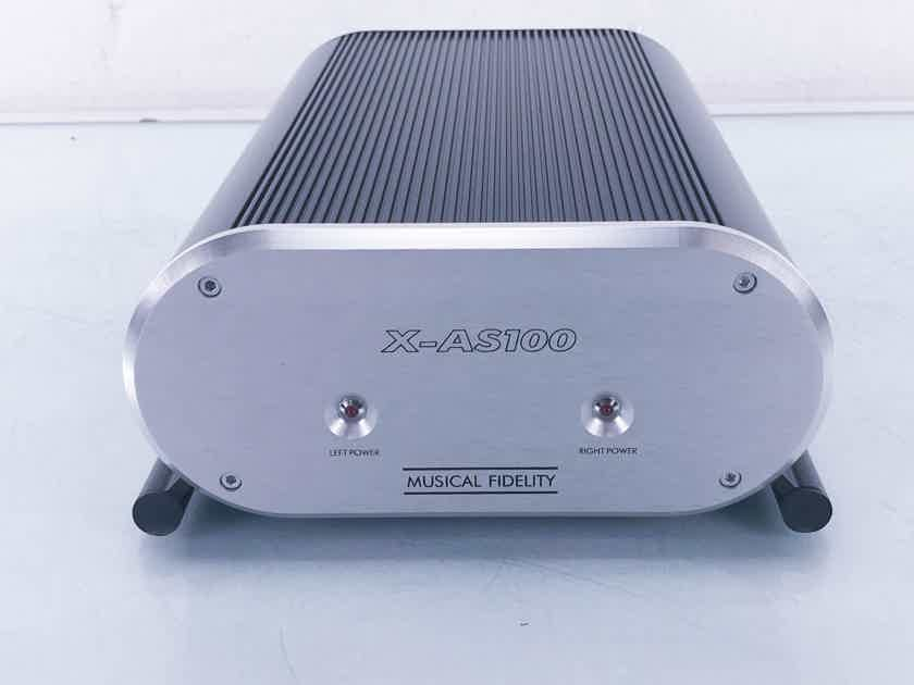Musical Fidelity X-AS100 Mono Power Amplifiers; Pair(11170)