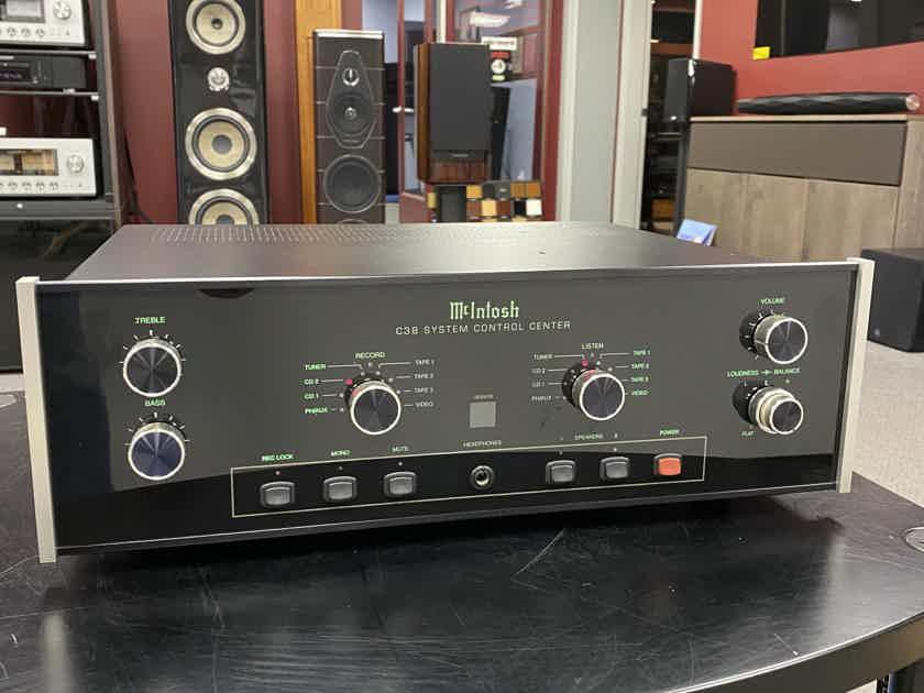 McIntosh C38 Control Center Pre Amplifier