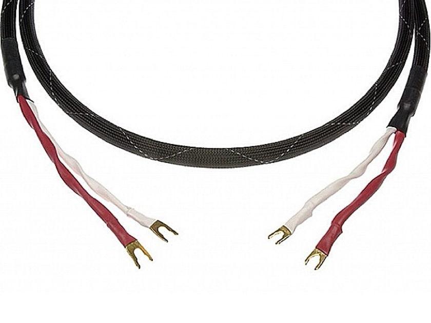 ACOUSTIC ZEN  Epoch Speaker Cables (Spade - 10ft): 40% Off; Factory Packed in Original Bag