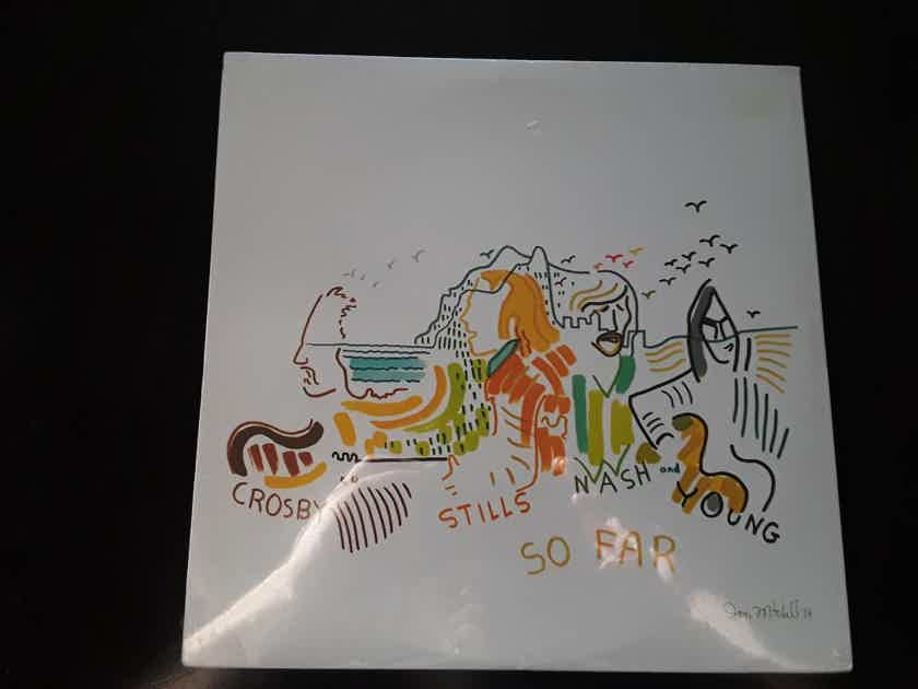 "Crosby, Stills, Nash & Young  - ""So Far"" Greatest Hits - Sealed and Near Mint Reissue - 1977 by RCA Music Service"