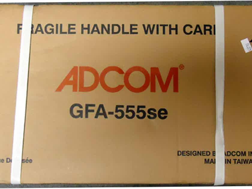 ADCOM GFA 555SE-200 WPC BRIDGEABLE STEREO AMP-NEW IN SHIPPING BOX