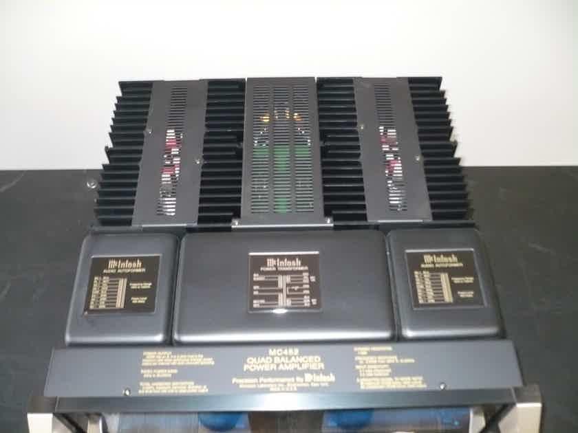 McIntosh MC-452 Power Amplifier Reduced