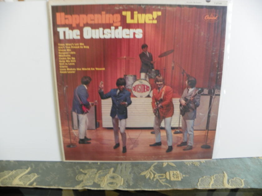 "THE OUTSIDERS - HAPPENING ""LIVE"" MONO & STEREO"