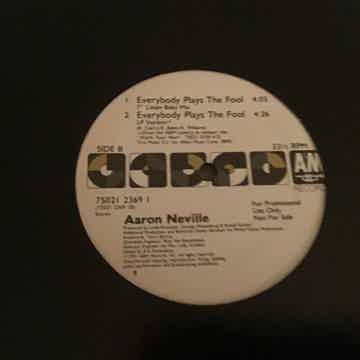 Aaron Neville Promo 12 Inch Quiex Vinyl A & M Records  ...
