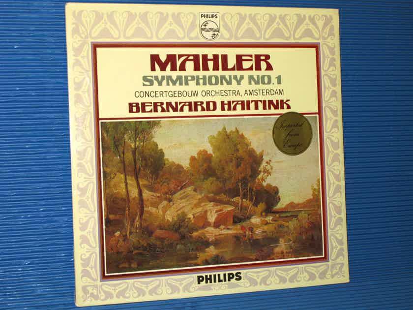 "MAHLER / Haitink  - ""Symphony No.1 ('The Titan')"" -  Philips 1972 Dutch Pressing SEALED!"