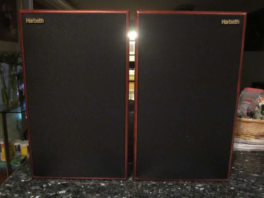 Harbeth Monitor 30.1 Rosewood /Excellent Condition with  Skylan Stands