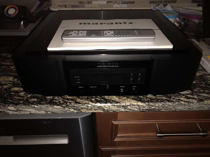 MARANTZ SA-10 CD/ SUPER AUDIO CD PLAYER/ DAC/ BLACK/ NICE!!!