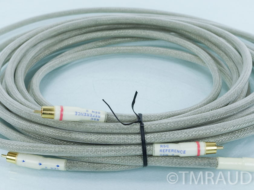 Tara Labs RSC Reference Gen 2 RCA Cables; 5m Pair Interconnects (7485)