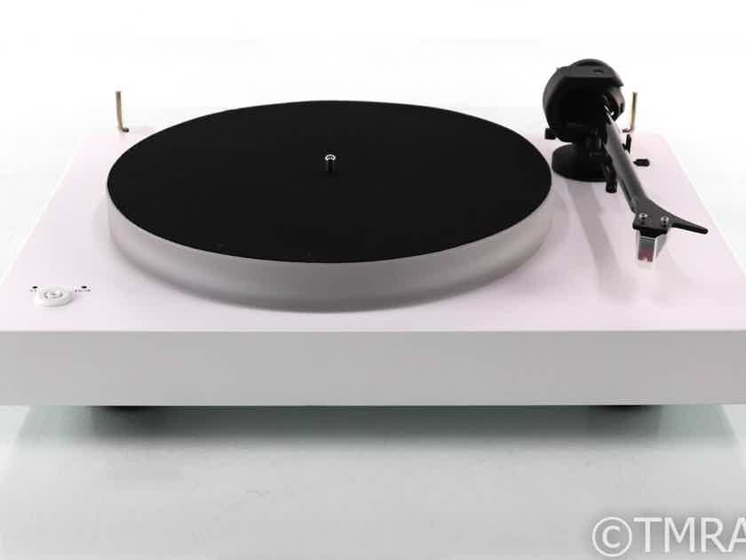 Pro-Ject X2 Turntable; White; Sumiko Moonstone MM Cartridge (Very Low Use) (28410)