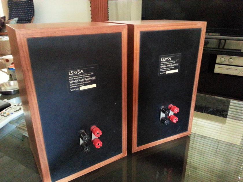 Spendor  LS3/5as 11ohms Teak - Price Reduced
