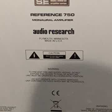 Audio Research Reference 750SE