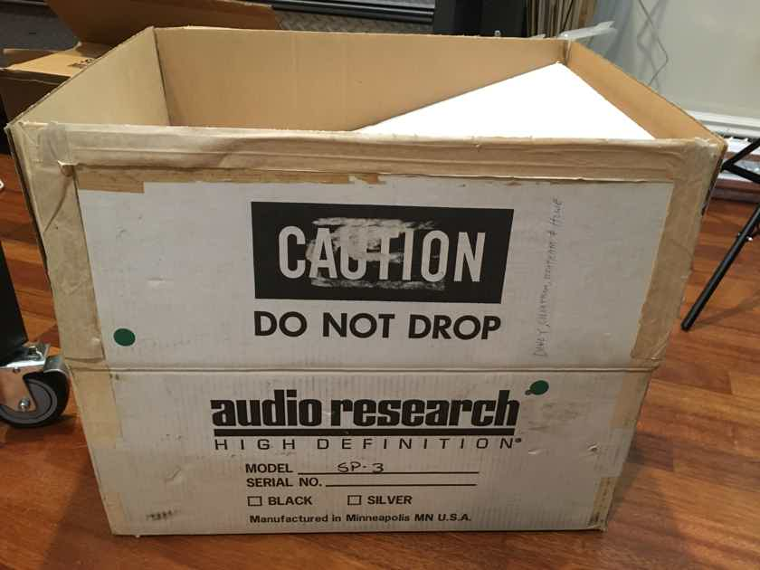 Audio Research SP-3 Vintage Tube Pre, Serviced by AR