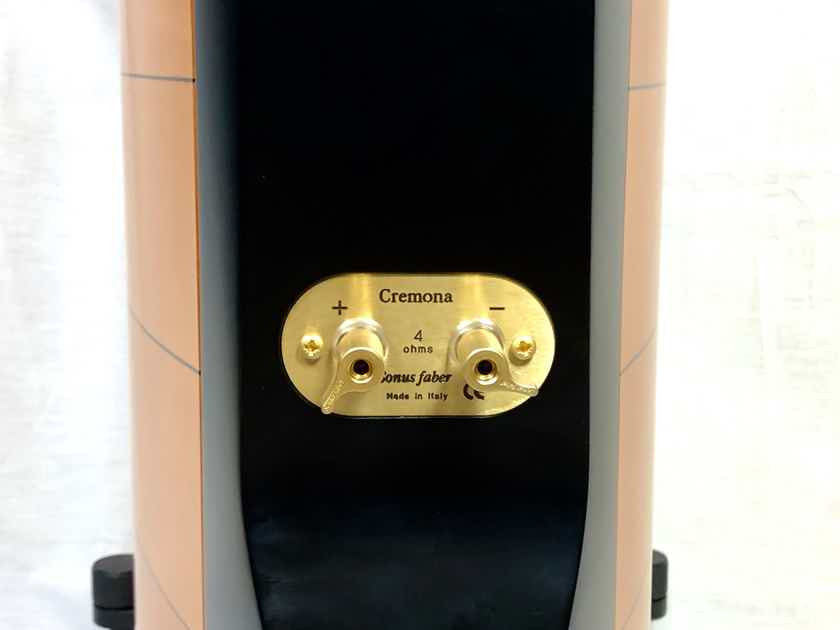 Sonus Faber Cremona floor-standing speakers in Maple