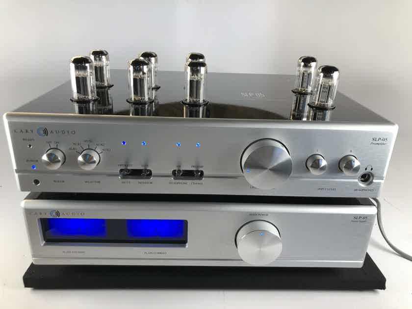 Cary Audio SLP-05 Two Chassis Tube Preamp - Complete And Mint