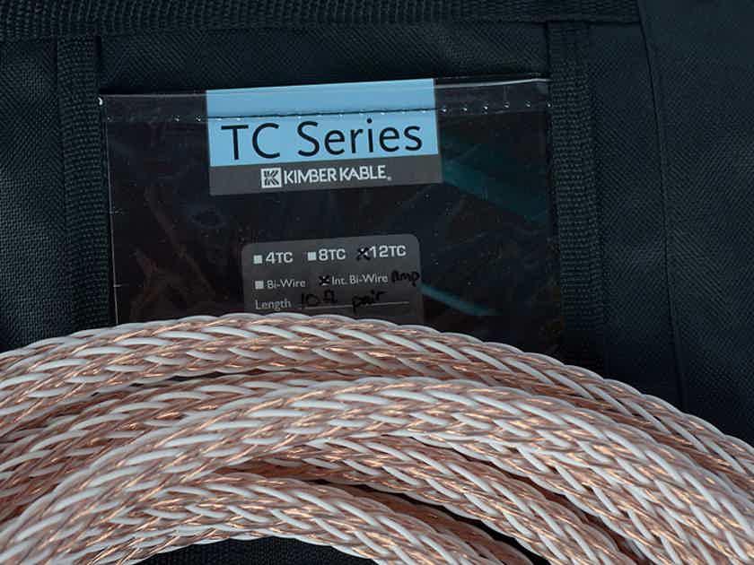 Kimber Kable 12 Tc Bi Wire Bi Amp W Wbt0645 10 Ft Speaker