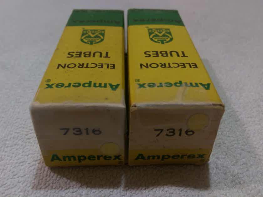 Amperex Mullard Mazda Telefunken 12AU7 ECC82 ECC802S Valves