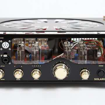 Audio Valve Solaris in Black/Gold finish