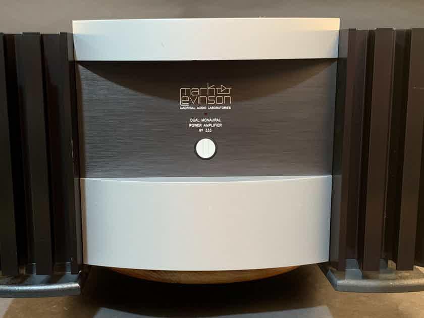 Mark Levinson Madrigal Audio No 333 Dual Monaural Power Amplifier Audiophile Amp