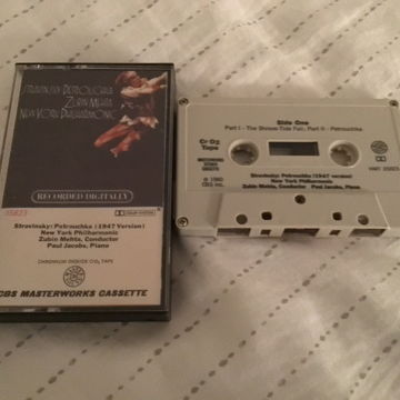 Zubin Mehta New York Philharmonic Orchestra Chrome Tape  Stravinsky Petrouchka(1947 Version)