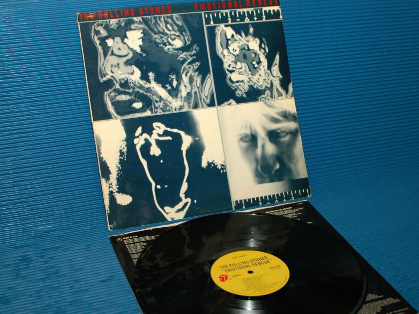 """THE ROLLING STONES   - """"Emotional Rescue"""" -  RSR 1980"""