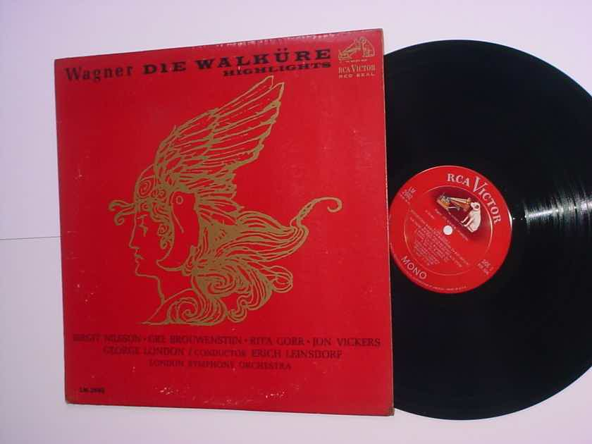 RCA Victor red seal MONO LM-2692 lp record Wagner Die Walkure highlights 1963 s1/s1