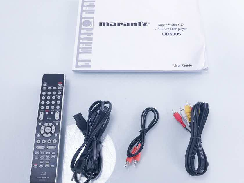 Marantz  UD5005  Universal Smart Blu-Ray Disc Player; 3D (2783)