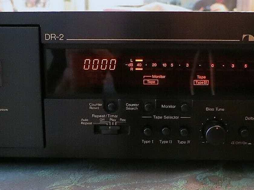 Nakamichi DR-2 with Original Box 3 Head Made in Japan!
