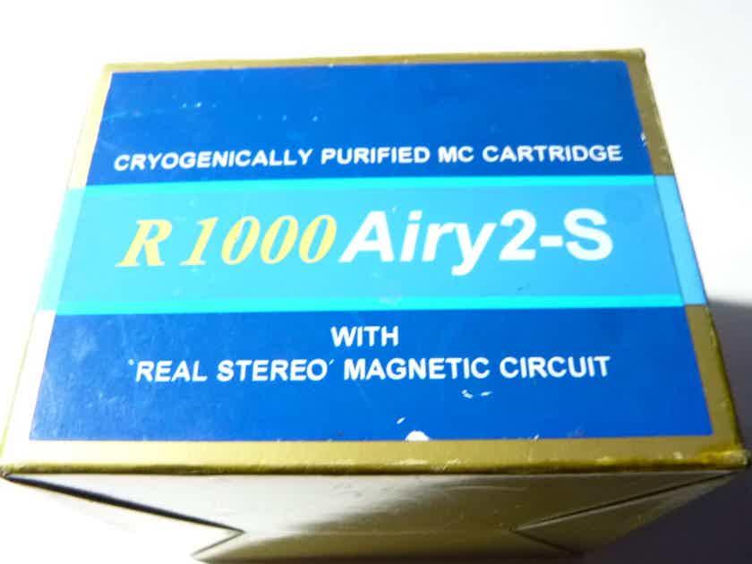 ZYX R1000 Airy 2-S phono cartridge LOMC