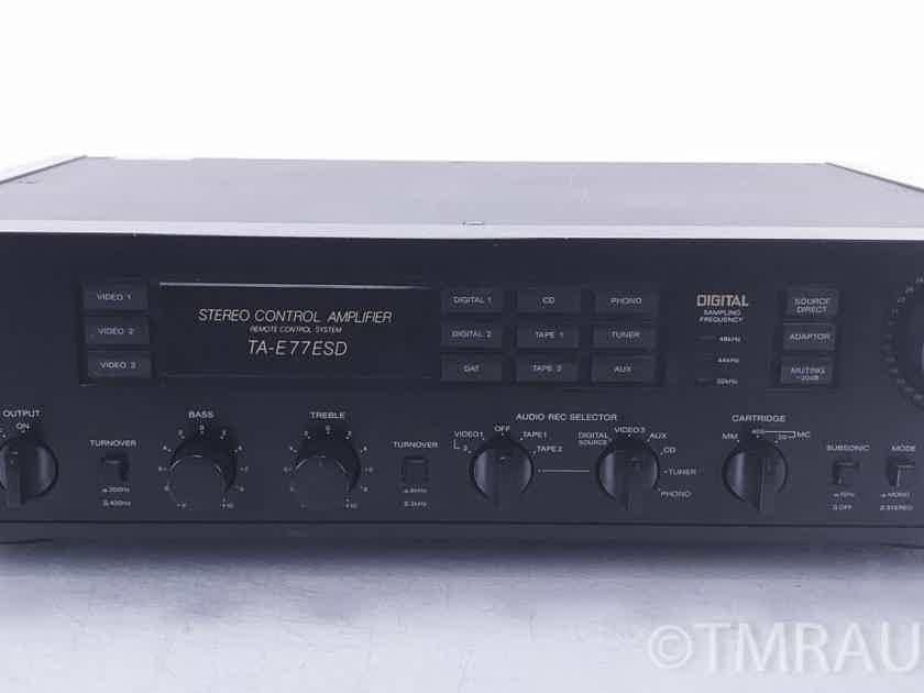 Sony  TA-E77ESD Stereo Preamplifier / Preamp (10492)