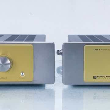 Line 3 Stereo Tube Preamplifier w/ Power Supply
