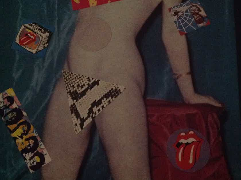 Rolling Stones - Undercover  Rolling Stones Records Promo Stamp Back Cover Vinyl LP NM