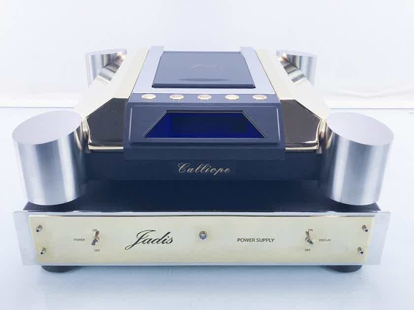 Jadis Calliope CD Transport Gold Plated Finish; Power Supply; Factory Inspected (16304)