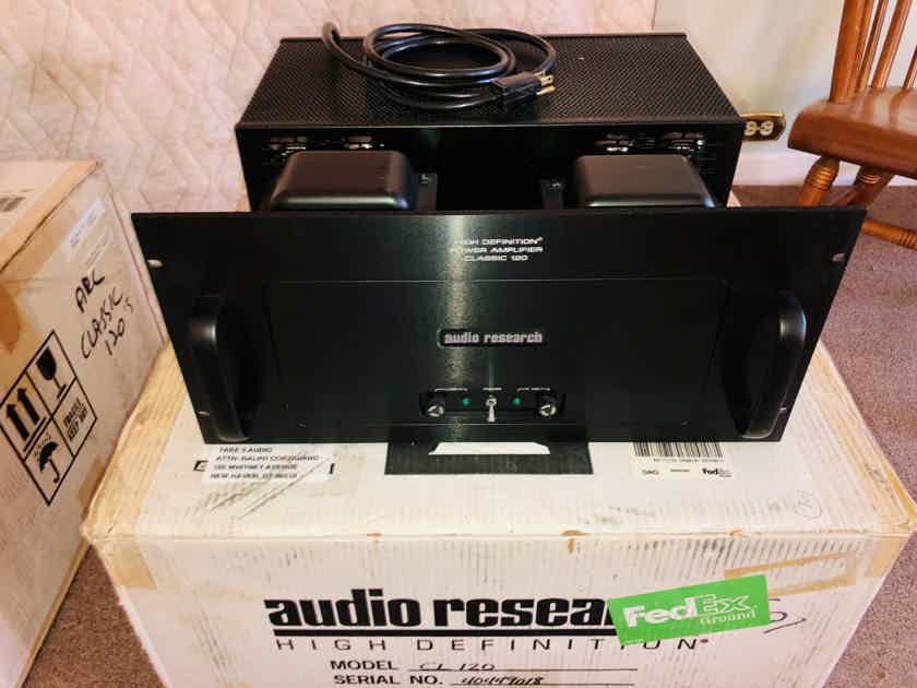 Audio Research Classic 120 Hybrid/Tube FET