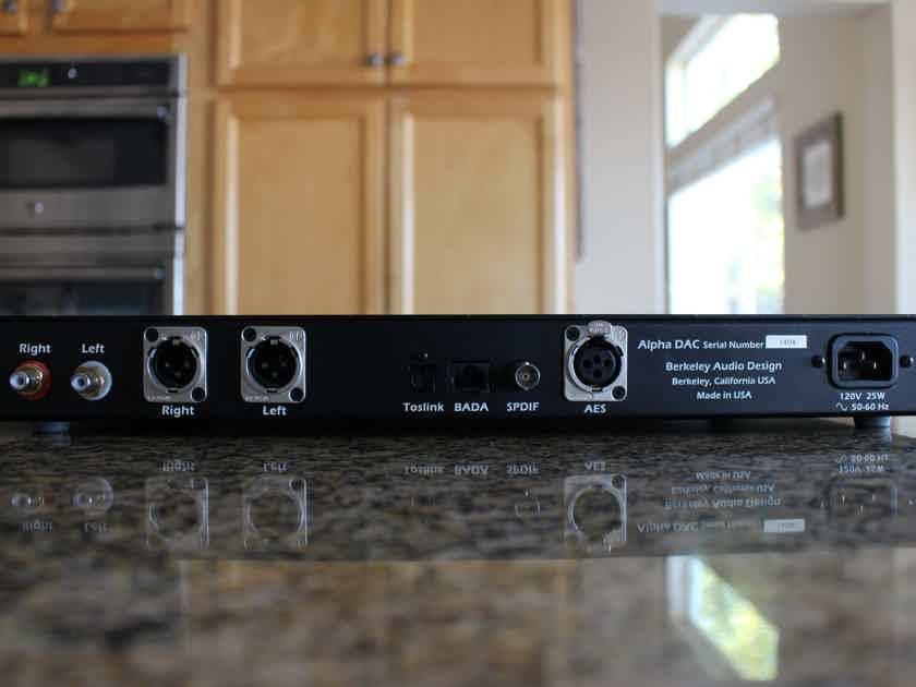 Berkeley Audio Design Alpha DAC V1 Shipping PP INC!