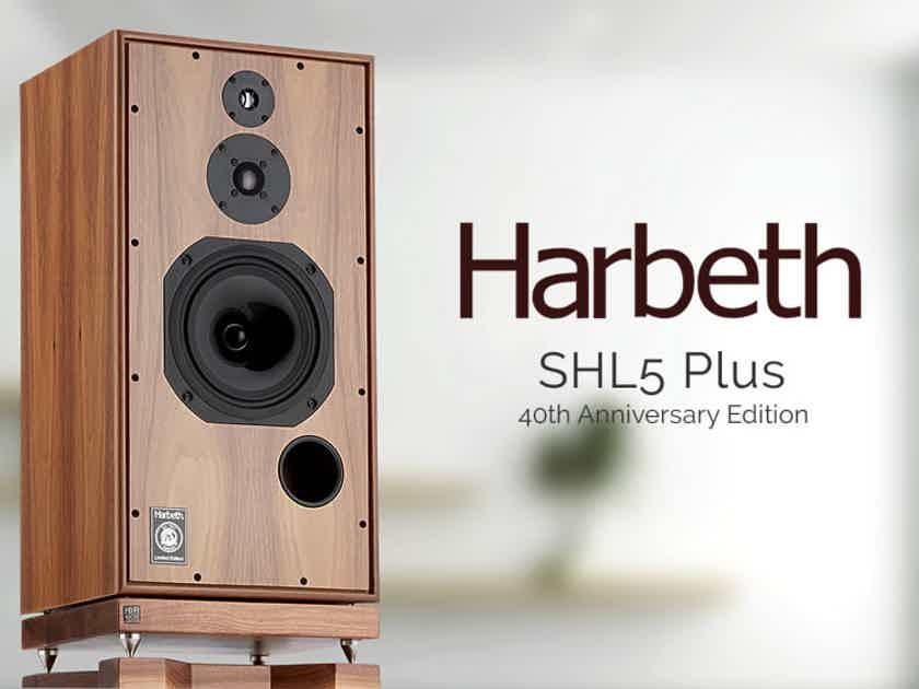 Harbeth Super HL5 Plus 40th Anniversary Monitor Speakers
