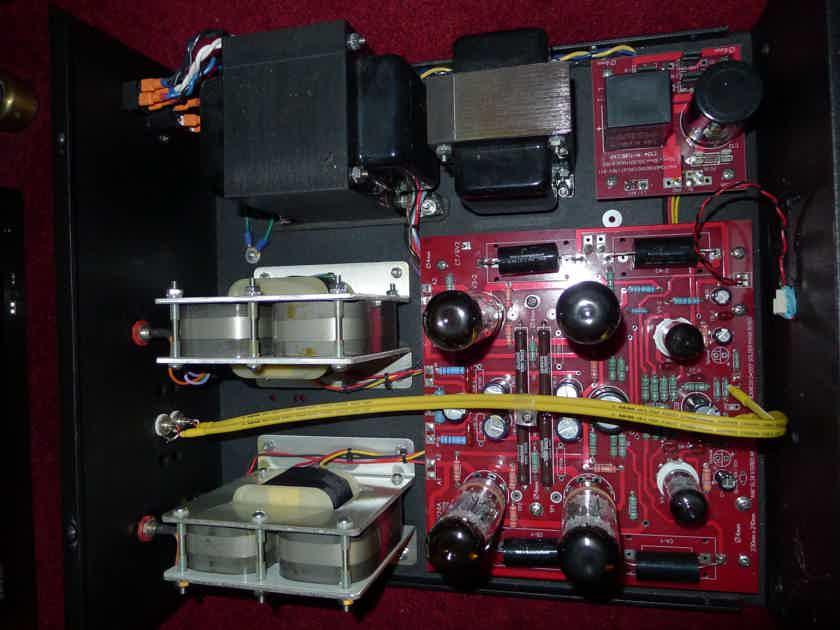 L4 EL34 Amp, C-Core Output Transformers