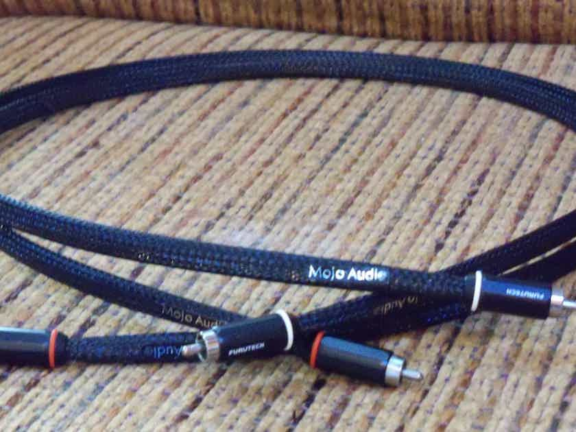 Mojo Audio Silver Ribbon 1M Interconnect RCA