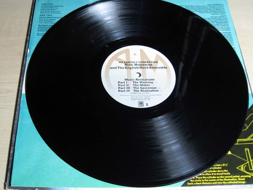 Rick Wakeman And The English Rock Ensemble - No Earthly Connection - 1976 A&M Records SP-4515