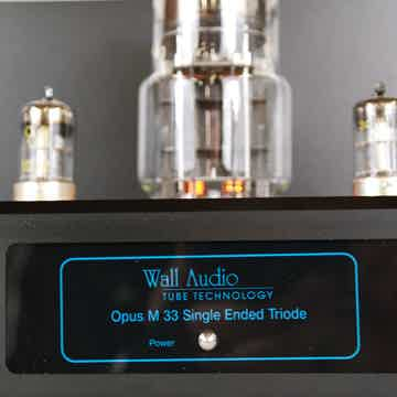 Wall Audio M 33 SET - Single Ended Triode - Pure Class ...