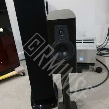 Dynaudio Contour 20 w/stands Piano Black