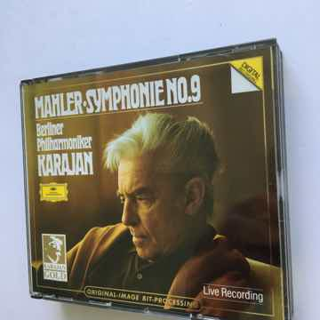 Mahler Karajan Gold image bit processing Symphonies no9...
