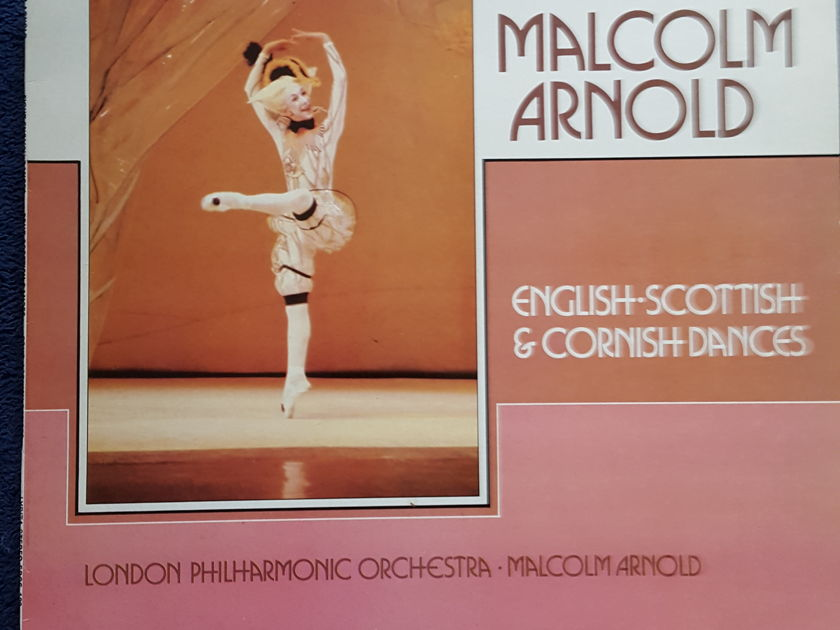 HARRY PEARSONS PRIVATE COLLECTION  - MALCOLM ARNOLD ENGLISH-SCOTTISH AND CORNISH DANCES LYRITA *TAS SUPER DISC LIST*