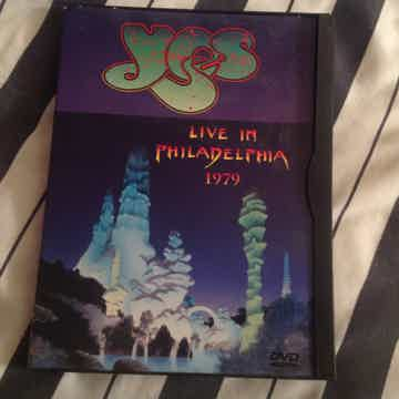 Yes Live In Philadelphia 1979 DVD