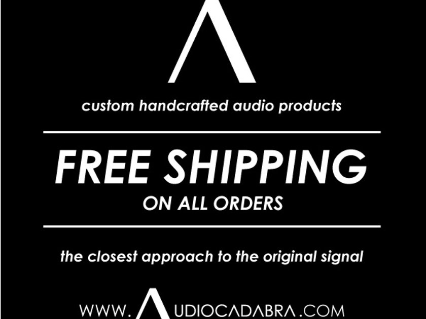 Audiocadabra™ Ultimus2™ Solid-Core Silver USB Cables (Pay Less For More!)