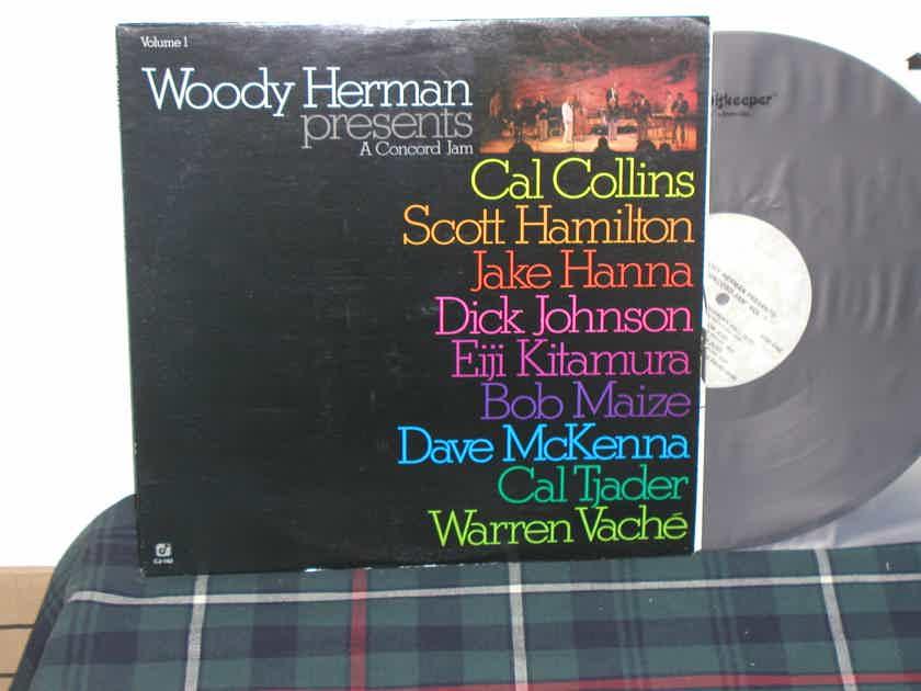 """Cal Collins/Scott Hamilton/Warren Vache - """"A Concord Jam Vol. 1"""" Concord CJ-142"""