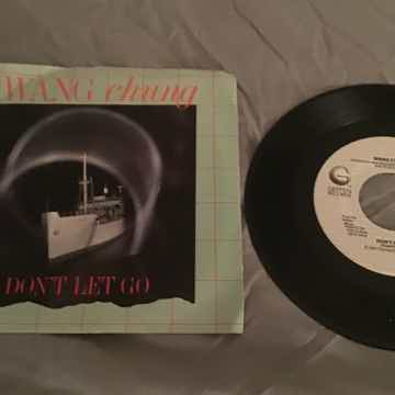 Wang Chung Promo 45 With Picture Sleeve Vinyl NM  Don't Let Go