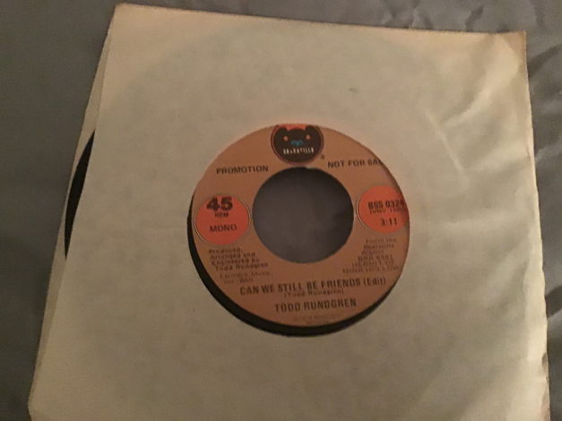 Todd Rundgren Promo Mono/Stereo 45  NM