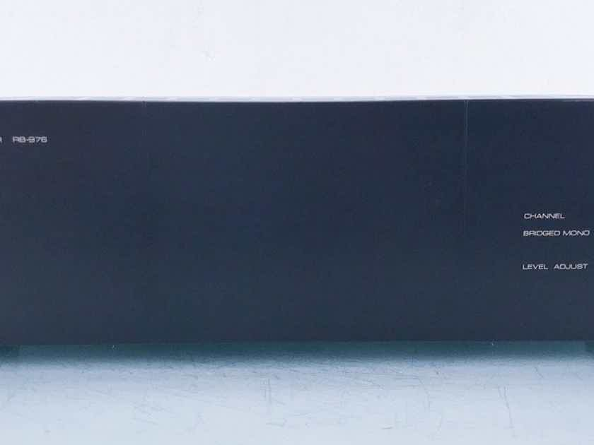 Rotel RB-976 6 Channel Power Amplifier RB976; AS-IS (Four Dead Channels) (14653)